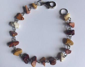 Bohemian Good Vibes Chip Beaded Bracelet