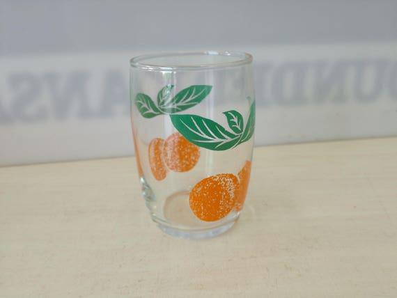 Fruit Glas, orange (multiple available)