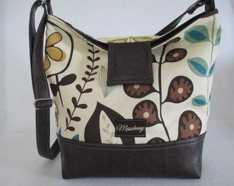 Leather/ Vegan Fold Over Purse