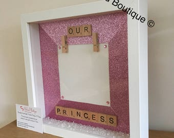 Baby scan/picture frame
