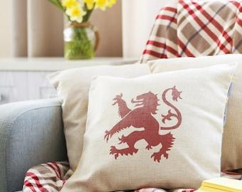 CraftStar Lion Rampant Stencil- Reuseable Royal Standard of Scotland Stencil