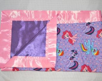 Large Luvie My Little Pony Blanket