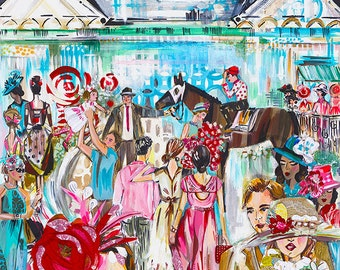 Kentucky Derby 2014 Print