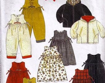 Jacket, Dress, Romper, hat Pattern - Patron de veste, robe, salopette, chapeau - New Look no 6796