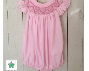 Smocked Bubble, Girls Smocked Outfits