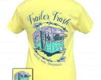 Girlie Girl trailor trash tee shirt NEW