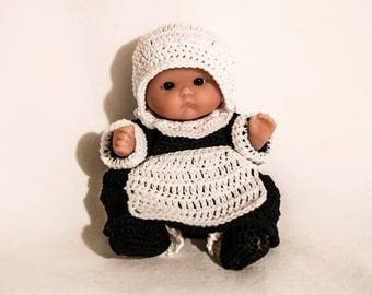 Mrs Pilgrim Outfit for the Itty Bitty Baby by Berenguer Lots to Love Baby Doll