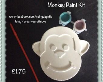 Monkey Painting Kit