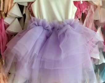 Lovely Lavender Tutu Dress