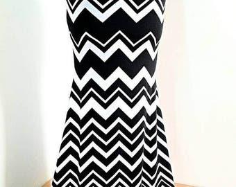 Black & white Mermaid skirt YOUR SIZE