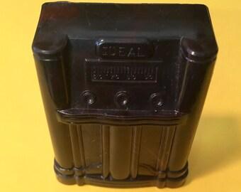 Dollhouse Miniature Floor Model Radio vintage Ideal Dollhouse Furniture 1:16