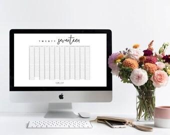 2017 Printable Planner Pack