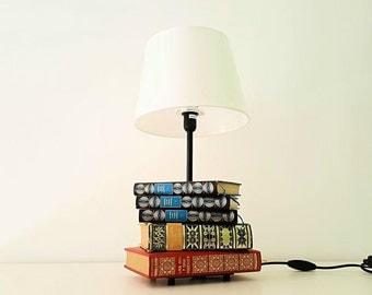 Lamp of books / books lamp