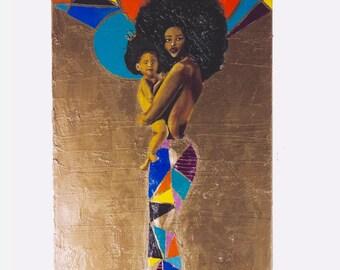 Emaiye and Child.