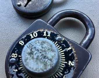 2 vintage locks
