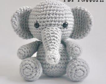 PDF Pattern altErMuligt's Baby Elephant approximately 9cm DANSK OPSKRIFT på altermuligt.com