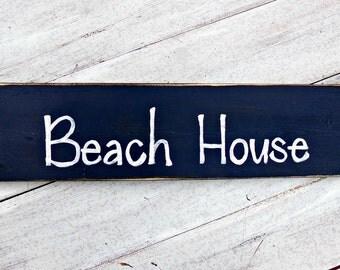 Beach House Rustic Wood Sign, Lake House Cabin Decor, Rustic Home Decor, Patio Sign, Nautical Decor, Rustic Pool Sign, Beach Home Decor