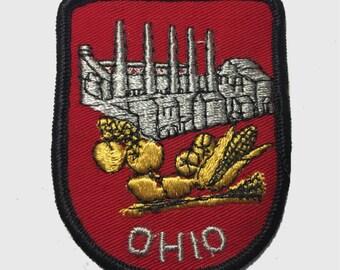 Vintage Ohio Patch