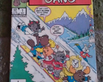 Star Comics Marvel Get Along Gang Comic Book