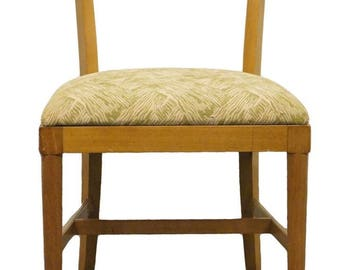 RWAY FURNITURE Mid Century Modern Blonde Dining Side Chair 94126 359