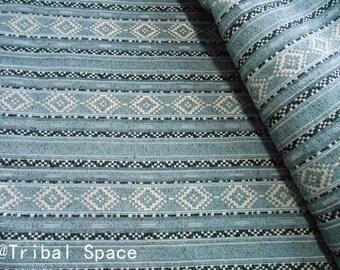 Bohemian Fabric Ethnic Fabric Geometric Pop Fabric Tribal Fabric Aztec Fabric Hand Woven fabric - half (1/2) yard (BHI 023)