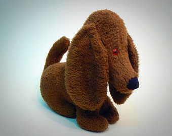 Vintage Stuffed Plush Dog Toy