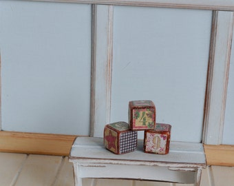 Handmade Cubes Miniature 1:6 Pullip Blythe Momoko Barbie BJD Lati