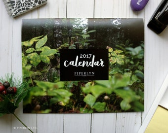 60% OFF - 2017 Wall Calendar - Handlettered Quotes & National Park Photography