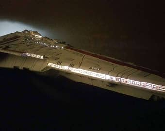 Star Wars Star Destroyer 3D Printed Scale Model