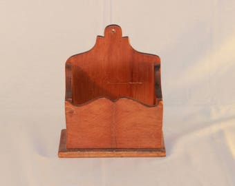 Antique  Pine Wall Box