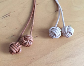 Monkey Fist Knot Bookmarks for your Notebook *Not for sale - only for reference*