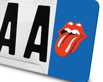 Sticker The Rolling Stones to license plates