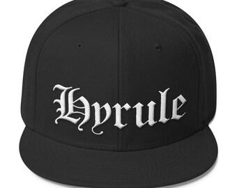 Straight Outta Hyrule - Black Baseball Cap with Snapback (Legend of Zelda/N.W.A.)