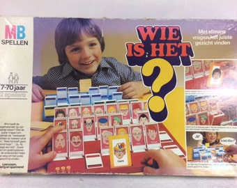 Vintage Guess Who Board Game