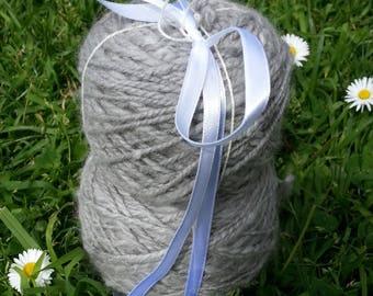 handspun angora yarn ecofriendly knitting crochetin weaving