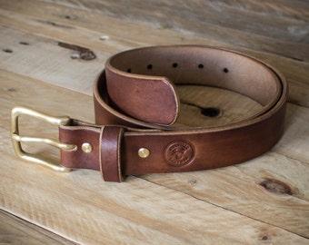Handmade belt, Leather Belt, Mens Belt, Oak Bark Tanned Leather Belt, Belt, Mens Leather Belt, Oak Bark Leather, Hand made Belt