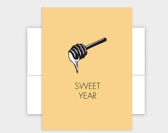 Sweet Year - Jewish New Year Greeting Cards