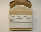 Savon au vinaigre de cidre, Savon artisanal fait main 100% naturel, Cold process Natural Handmade Soap, pour peau sensible, savon doux.