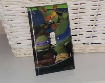 Teenage Mutant Ninja Turtles Wall Plates Lightswitch Cover Outlet Covers TMNT Bedroom Decor Ninja Turtles Room Boys Room