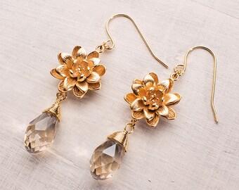Earring Lotus Blossom