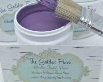 Majestic Purple Chalky Finish Paint, 12 oz, Furniture Paint, Distressing Paint, Home Decor Paint, DIY Upcycle Furniture Paint, Purple Paint
