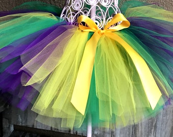 Mardi Gras Tutu, Fat Tuesday Tutu, Baby Tutu, Girls Tutu, Newborn Tutu, Toddler Tutu, Photo Prop tutu, Birthday Tutu, Gold Tutu, Green Tutu
