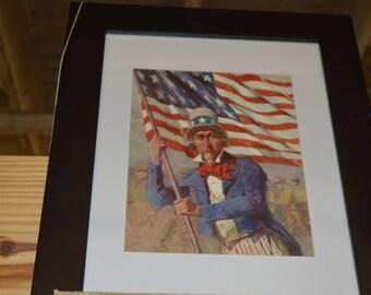 Old Uncle Sam print