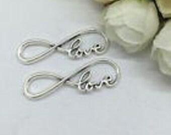 Silver Charms Infinity Loop Love x11