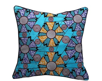 Ankara African styled cushion pillow cover