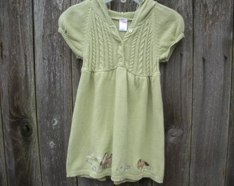 girls sweater dress size 5 toddler