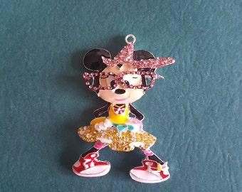 Minnie Mouse Needle minder / Strong Magnets/ Needle Nanny / Needle Minder / Chart Magnets / Needle Holder/ Neodymium / Rare Earth