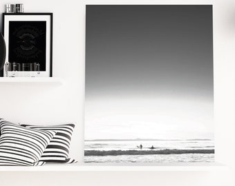 Black and White Surfer, Surf Photography, Ocean Photography, Wave, Pacific, California Photography, Newport Beach