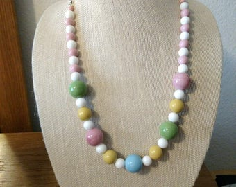 Large Beaded Necklace.