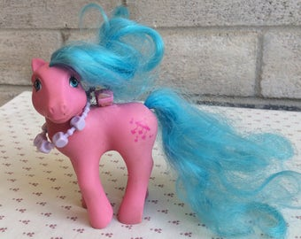 Pink My Little pony, Flutter My Little Ponies, pink MLP, My Little Pony G1